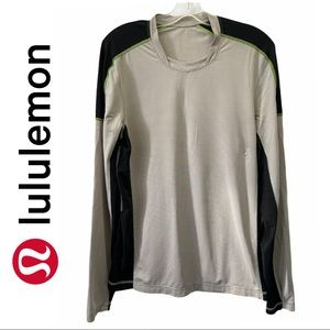 Lululemon Grey Long Sleeve Shirt